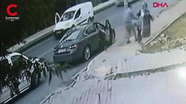 İstanbul'daki tekerlek dehşetine ait yeni görüntüler ortaya çıktı