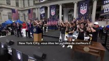 """""""Allez au-delà de vous-même !"""" : le discours très politique de Megan Rapinoe, la star de l'équipe américaine de foot"""