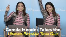 Camila Mendes Knows So Much Riverdale Trivia, We're Convinced She's Actually Veronica Lodge
