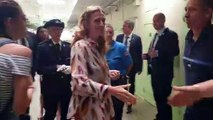 Nicole Belloubet visite la Maison Centrale de Saint-Martin de Ré