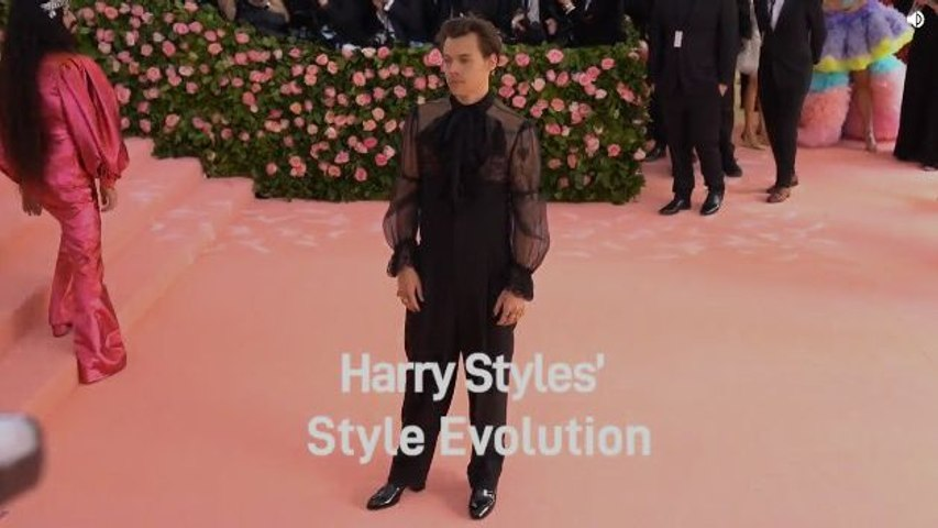 Harry Styles' Style Evolution