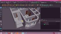 আপনার পছন্দের বাড়ি তৈরী করুন P 9। Make a home in Maya! Create a 3d location! House model in Maya! House Texturing Process in Maya! Color Asaining! Add color in your House! Easy texture House!