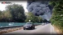 Roma, in fiamme l'Eur | Notizie.it