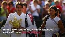 Wimbledon : une 40e confrontation pour une place en finale... Ce qu'il faut savoir avant le choc entre Federer et Nadal