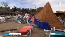 Grèce : une violente tornade fait au moins six morts