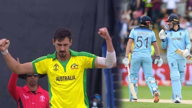 World Cup 2019 AUS vs ENG: Mitchell Starc removes Jonny Bairstow to end 124 stand | वनइंडिया हिंदी