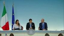 Roma - Conte con i Ministri Locatelli e Fontana (11.07.19)