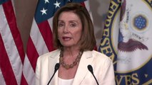 Nancy Pelosi declines to address party tensions