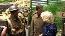 Camilla mans trenches to celebrate RAF Halton centenary