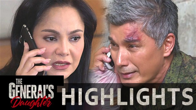 Corazon learns that Marcial and Rhian is safe | The General's Daughter