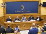 Roma - Conferenza stampa di Mattia Fantinati (11.07.19)