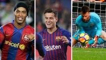 Brasileiros mais caros contratados pelo Barcelona