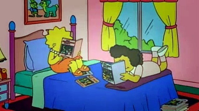 The Simpsons Season 8 Episode 17 My Sister My Sitter