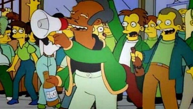 The Simpsons Season 8 Episode 18 Homer vs the 18th Amendment