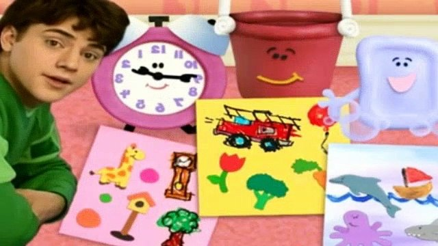 Blues Clues Season 4 Episode 22 - The Big Book About Us