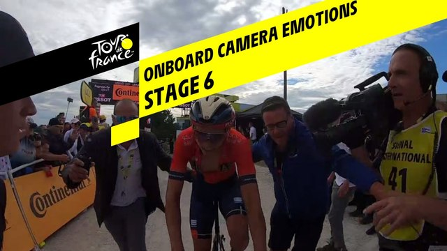 Onboard camera Emotions - Étape 6 / Stage 6 - Tour de France 2019