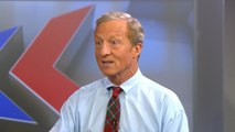 "Tom Steyer slams Trump's ""America First"" foreign policy as ""so darn dumb"""