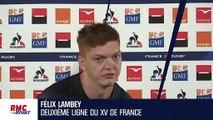 """XV de France - Lambey sur la préparation physique : """"Du mal à trouver du plaisir"""""""
