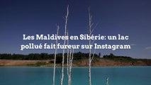 Les Maldives en Sibérie: un lac pollué fait fureur sur Instagram