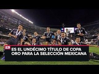 El Tri regresó a México tras ganar la Copa Oro