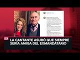 Shakira comparte mensaje de despedida para su exsuegro