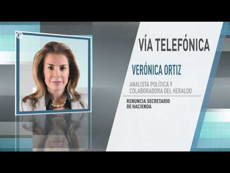 En duda la permanencia de Arturo Herrera en la SHCP, asegura Verónica Ortiz, analista