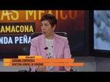 Programa de desarme ha recuperado y destruido 3 mil 486 armas en CDMX: Adriana Contreras