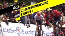 Zusammenfassung - Etappe 6 - Tour de France 2019