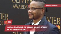 Cuba Gooding Jr Was The Talk Of This Restaurant