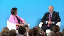Boris defends support for Sir Kim Darroch at Tory hustings