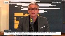 François de Rugy maintenu dans ses fonctions, la mort de Vincent Lambert... Les informés de franceinfo du jeudi 11 juillet 2019