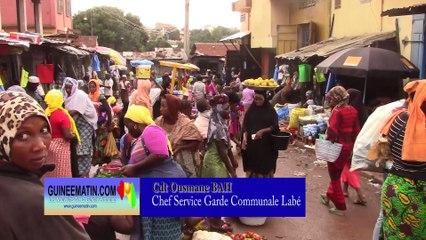 Lutte contre les occupations anarchiques de la chaussée : échec des autorités communales de Labé