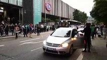 Scènes de liesse à Strasbourg après la qualification de l'Algérie en demi-finales de la CAN
