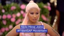 Nicki Minaj Wants ASAP Out Of Sweden