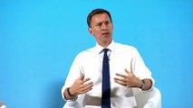 Hunt: 'I wish Sir Kim was still in his job'
