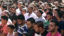 Funeral takes place of Palestinian militant killed 'by mistake' by Israeli fire in northern Gaza Strip