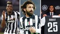 Nomes de peso que a Juventus contratou de graça