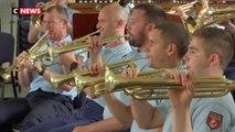 Un défilé en musique pour la fanfare de la Garde républicaine