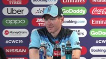 England's Eoin Morgan post win over Australia