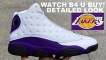 AIR JORDAN 13 LAKERS RETRO SNEAKER DETAILED HONEST REVIEW