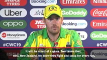 World Cup final will be 'hell of a game' - Finch