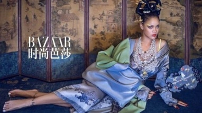 Rihanna Called Out For Cultural Appropriation for 'Harper's Bazaar' Photoshoot