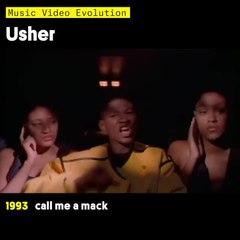 Music Video Evolution: Usher