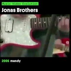 Jonas Brothers Music Video Evolution