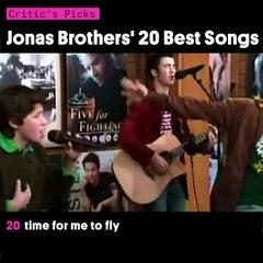 Jonas Brothers' 20 Best Songs