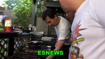 Manny Pacquiao Chef Use To Be A Boxing Coach Reveals What Manny Is Eating Daily