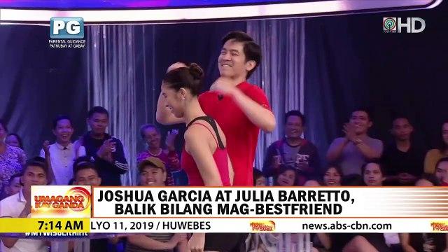Joshua Garcia, aminadong may nararamdaman pa rin kay Julia Barretto | UKG
