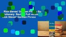 Rick Steves' German Phrase Book & Dictionary  Review  Full version  Rick Steves' German Phrase