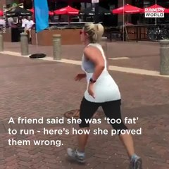 Told She Was 'Too Fat' To Run, This Woman Has Proven Doubters Wrong