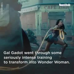 Gal Gadot's Training To Be Wonder Woman